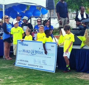 "Pediatric cancer survivors helping grant the next ""wish"""