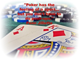 Poker as a sport