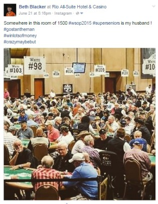 WSOP 2015 Super Seniors